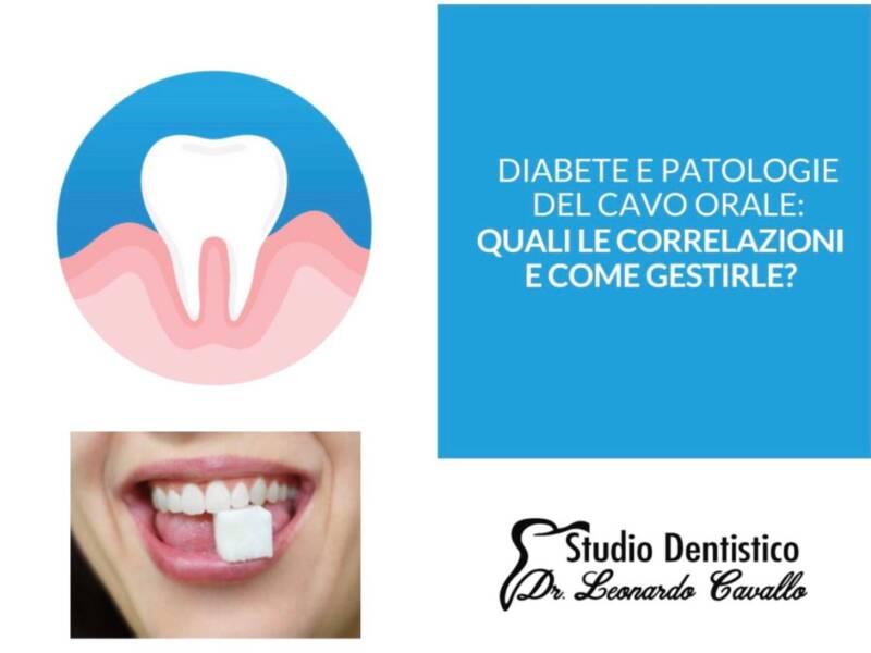 Diabete e cavo orale